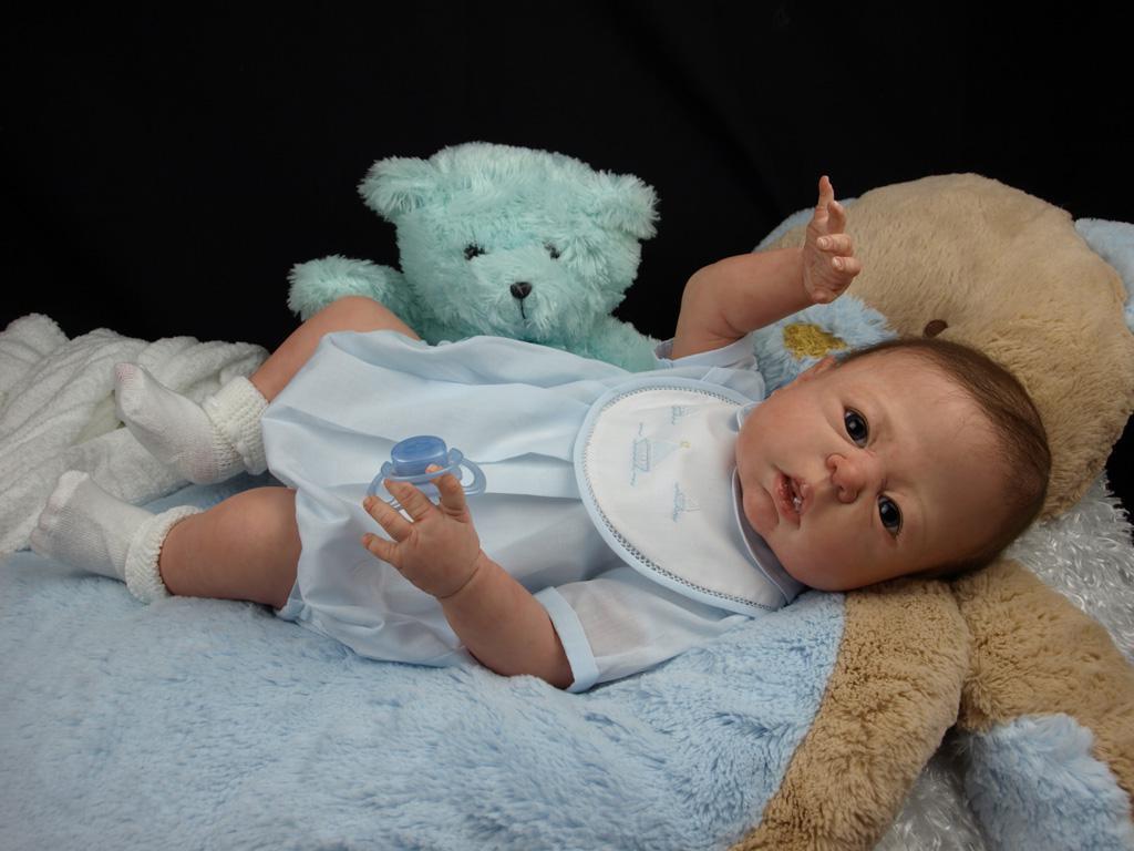 Full Body Silicone Baby Boy Dakota