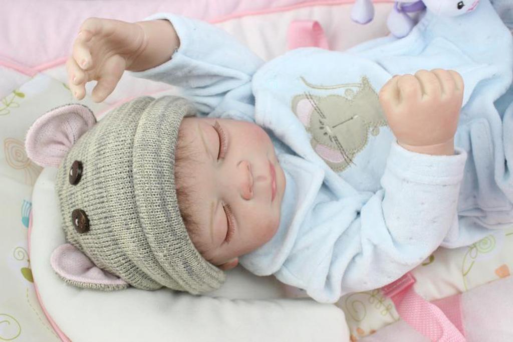 Full Body Silicone Baby Dolls Nursery