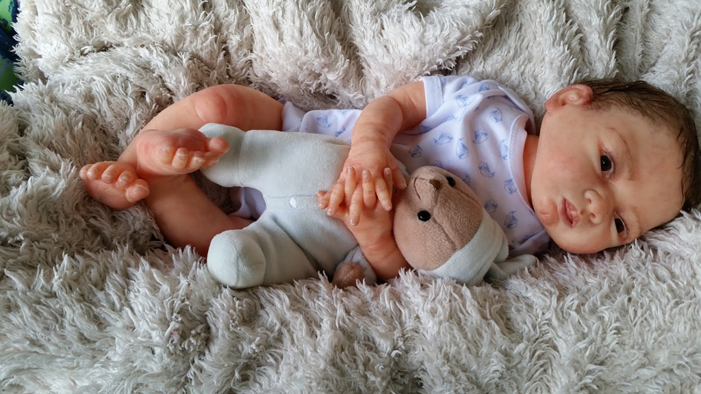 Full Body Silicone Baby Open Mouth