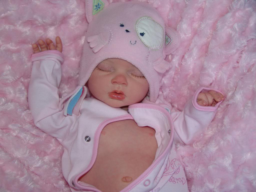 Full Body Silicone Reborn Baby Girl Open Mouth