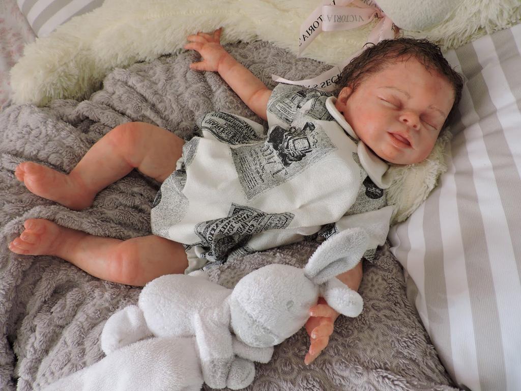 Full Body Silicone Reborn Baby Sleeping