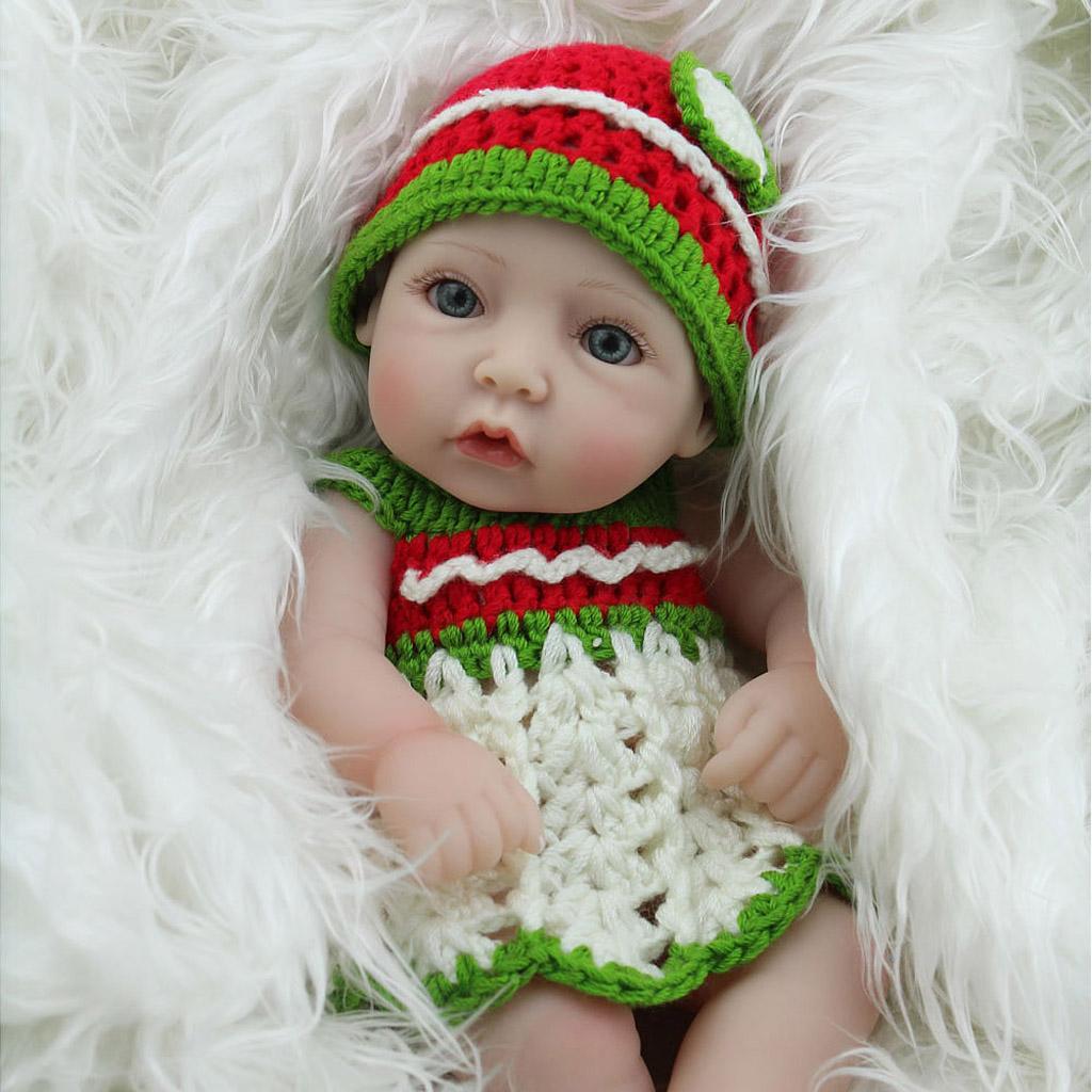 Solid Full Body Silicone Baby Dolls Nursery