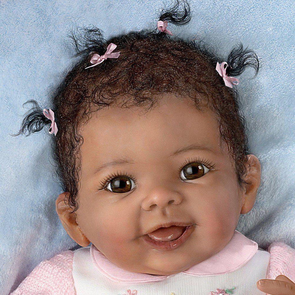 African American Newborn Baby Dolls that Look Real
